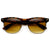 1950's Vintage Inspired Retro Half Frame Horned Rim Sunglasses 8769