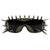 Ultra Punk Spiked Fashion Shield Sunglasses 8886