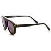 European Mirrored Lens Round P3 Retro Aviator Sunglasses 8758