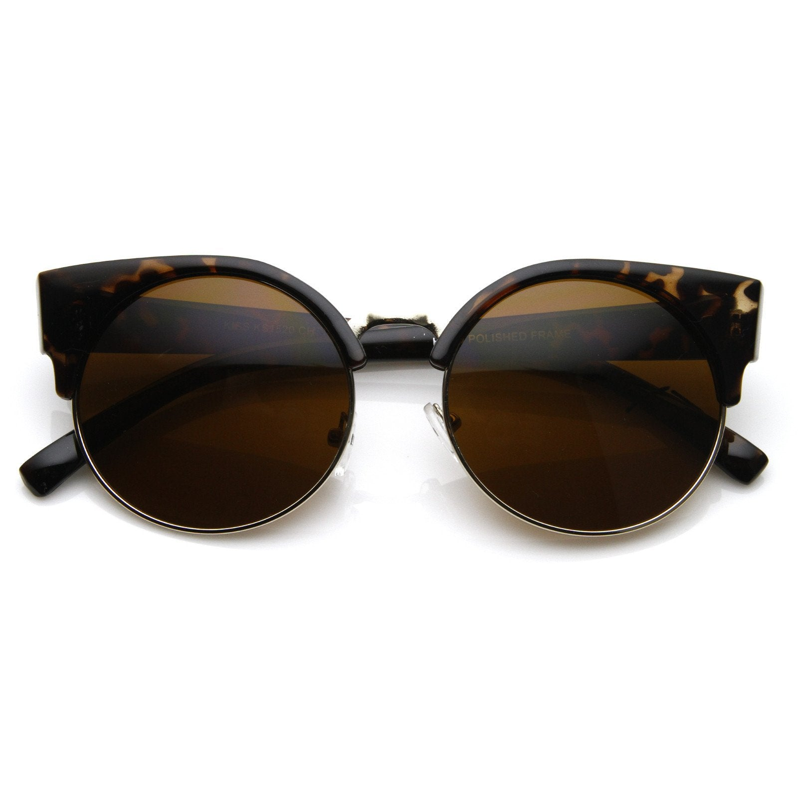 Retro Women's Eye Cat Tagged Sunglasses TPkOXZiu