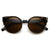 Vintage Indie Round Circle Cat Eye Sunglasses 8785