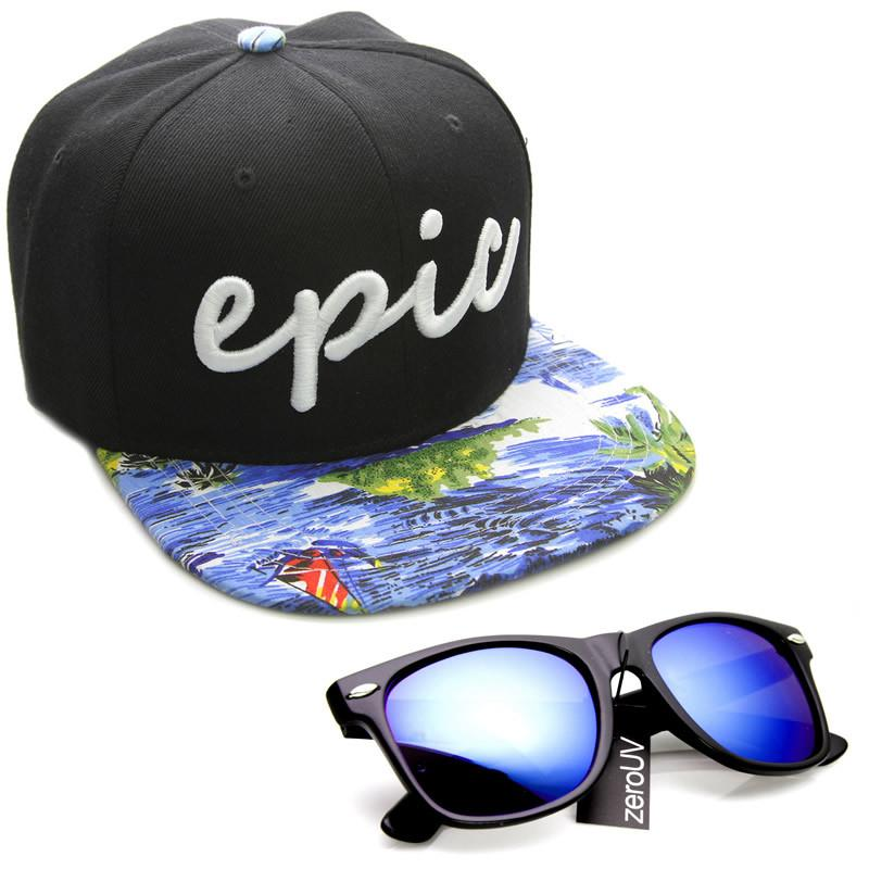 ... Exclusive Zerouv X Epic BMX Collaboration Snapback Cap Hat · Tropical  Black · Tropical Blue · Galaxy Grey · Dual Tone Resort 4f90487544a