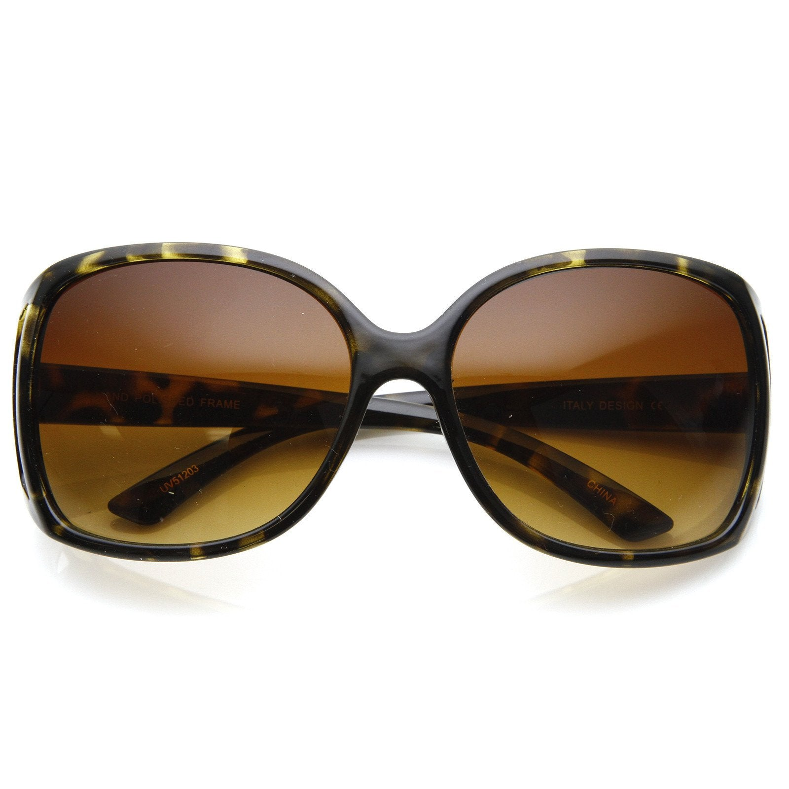 0e3a387aa9 ... Large Square Womens Fashion Eyewear Sunglasses 8753 · Tortoise