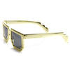Retro Shiny Color Foil Pixelated 8-Bit Sunglasses 8808
