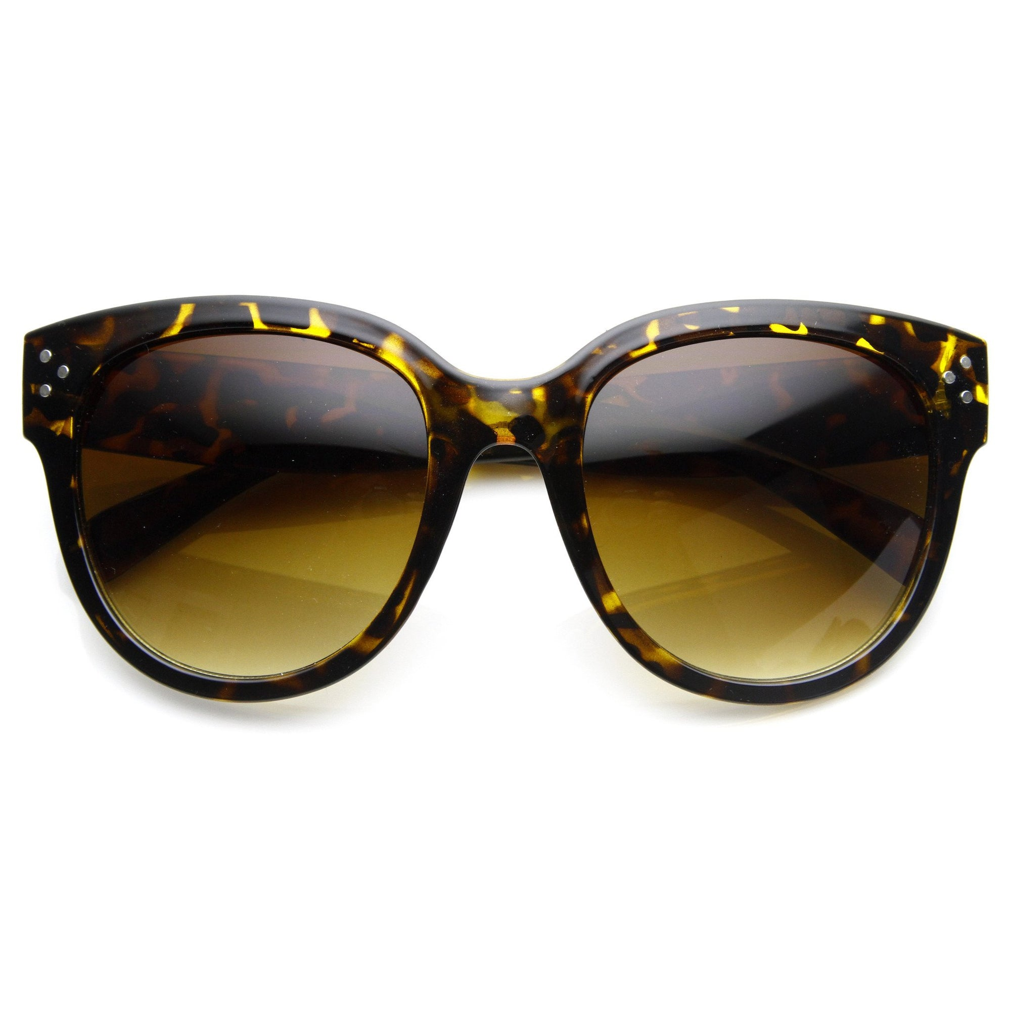 e7583965d272 Oversize Womens Designer Cat Eye Sunglasses 8814