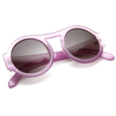 Womens Fashion Colorful Retro Round Sunglasses 8848