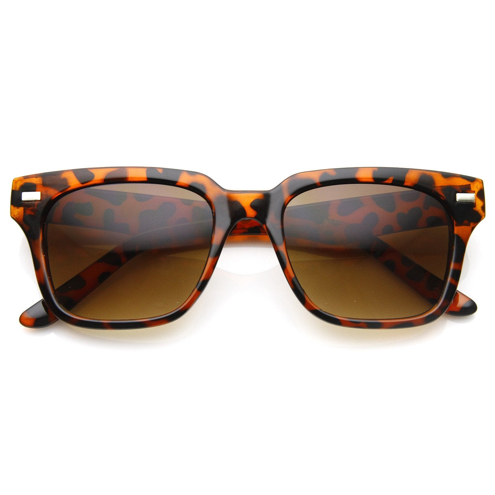 Vintage Era Inspired Horned Rim Sunglasses 8887