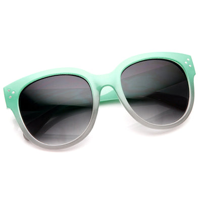 Womens Sunglasses Oversize Two Tone Shades 8917