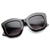 Oversize Blogger Designer Fashion Womens Sunglasses 8950
