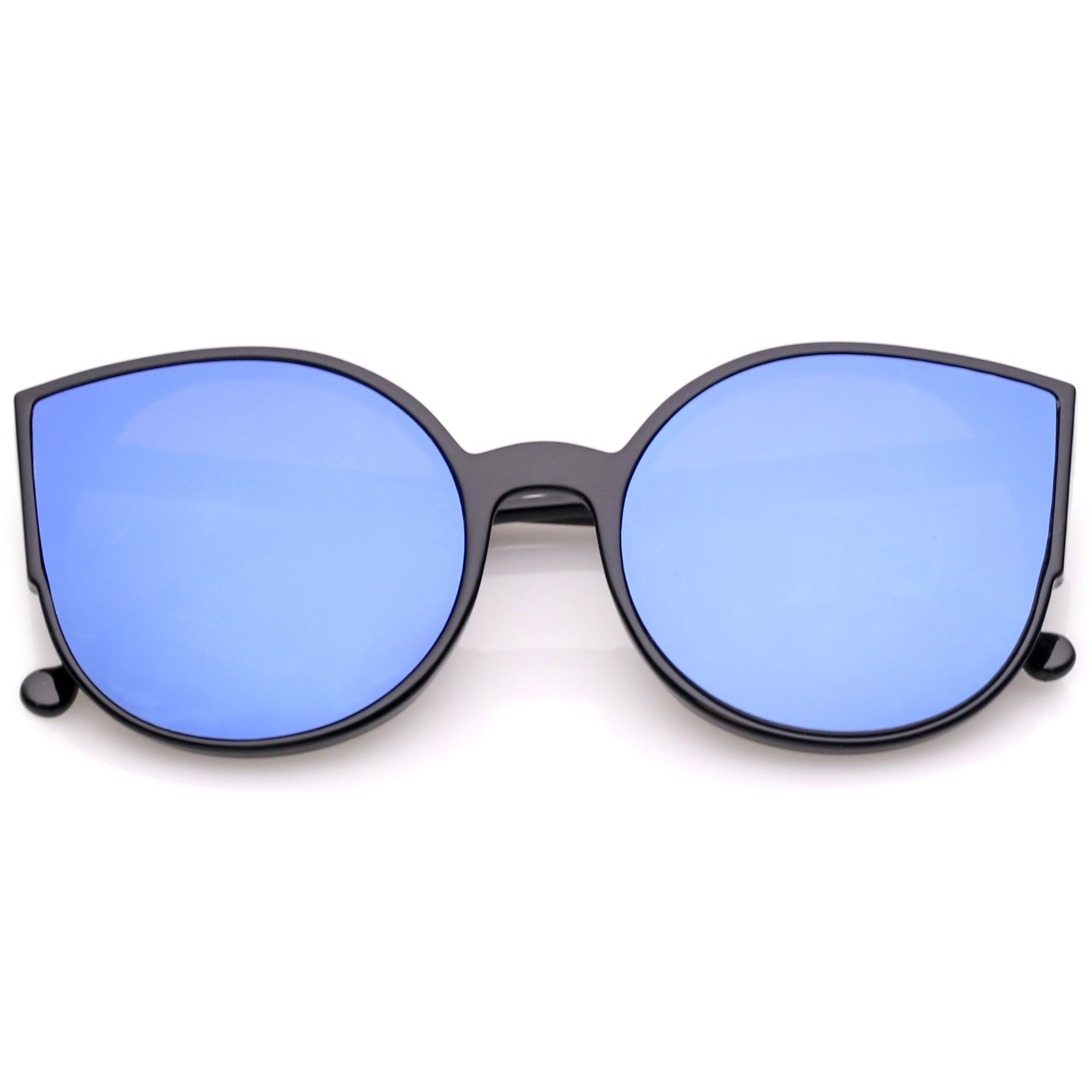809ce9f538eb Black Blue Mirror · Clear Silver Mirror · Black Silver Mirror · Tortoise  Gold Mirror · Women s Oversize Mirrored Flat Infinity Lens Sunglasses A940
