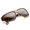 Uneven Asymmetical Flat Top Retro Disco Sunglasses 8832