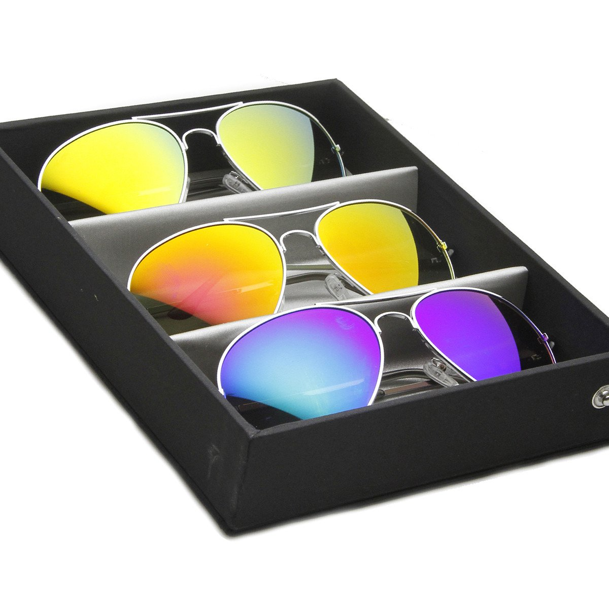 Collectors Edition Eyewear Glasses Sunglasses Vinyl Display Carrying Case 1025