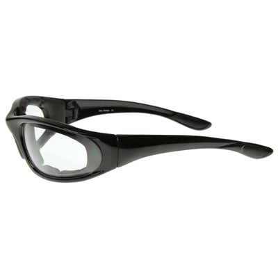 Premium Protective Eyewear Goggles Safety Glasses With Padding 8328