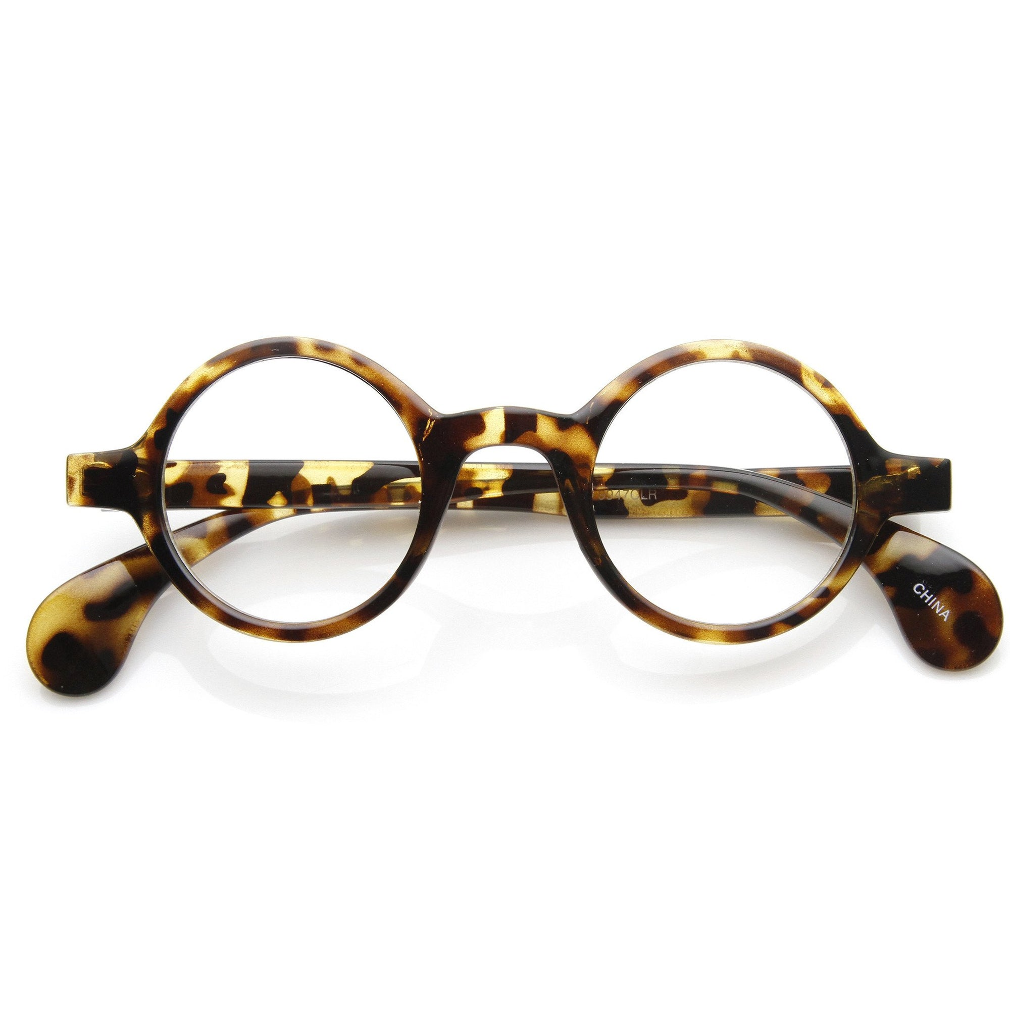 c13edc2884b ... Inspired 1920 s Clear Lens Spectacles Glasses 9129 · Shiny Tortoise