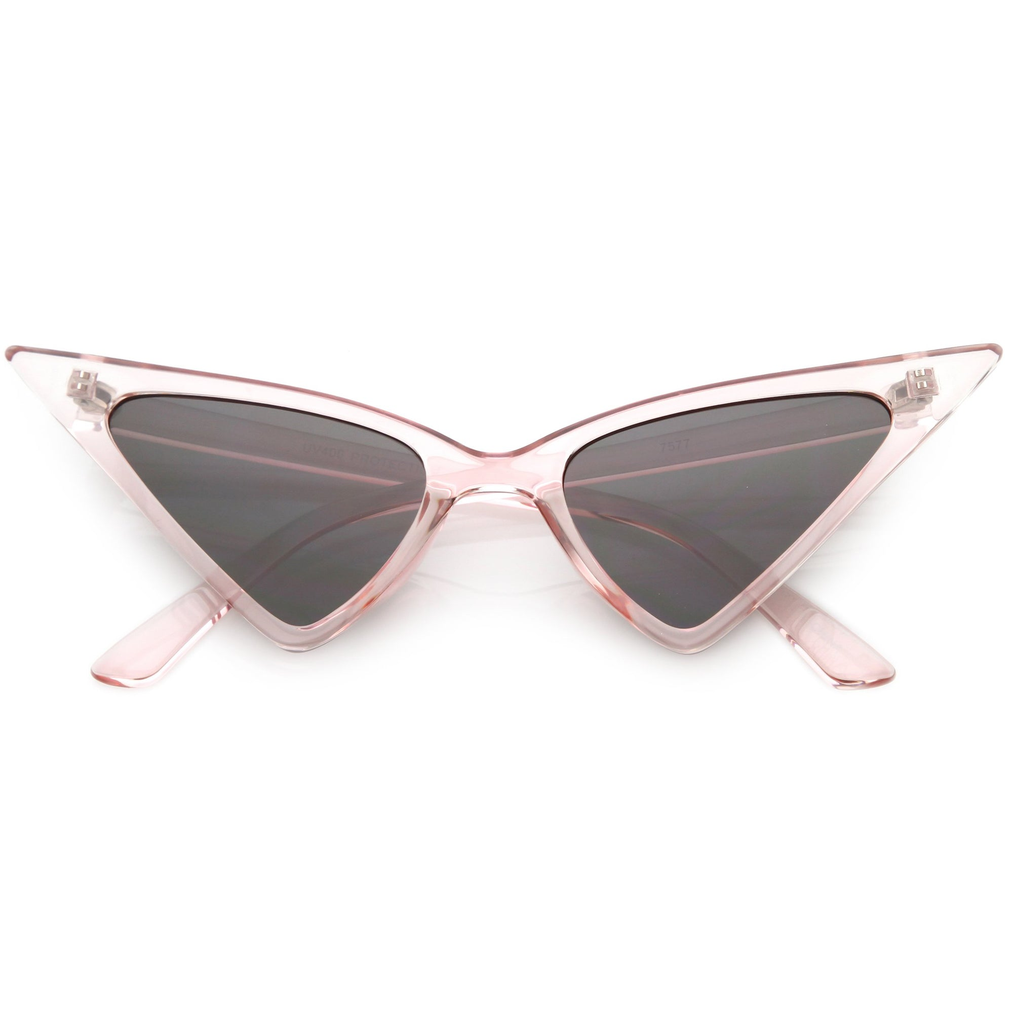 8586d6f8b2 Women s Oversize Retro Modern High Pointed Cat Eye Sunglasses C745