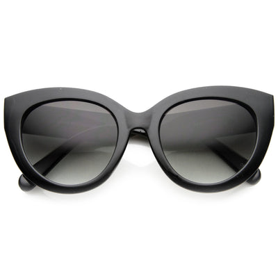 506f436b91 Women s 1950s Retro Oversize Cat Eye Fashion Sunglasses - zeroUV