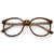 Retro Indie Dapper Round P3 Clear Lens Glasses C099