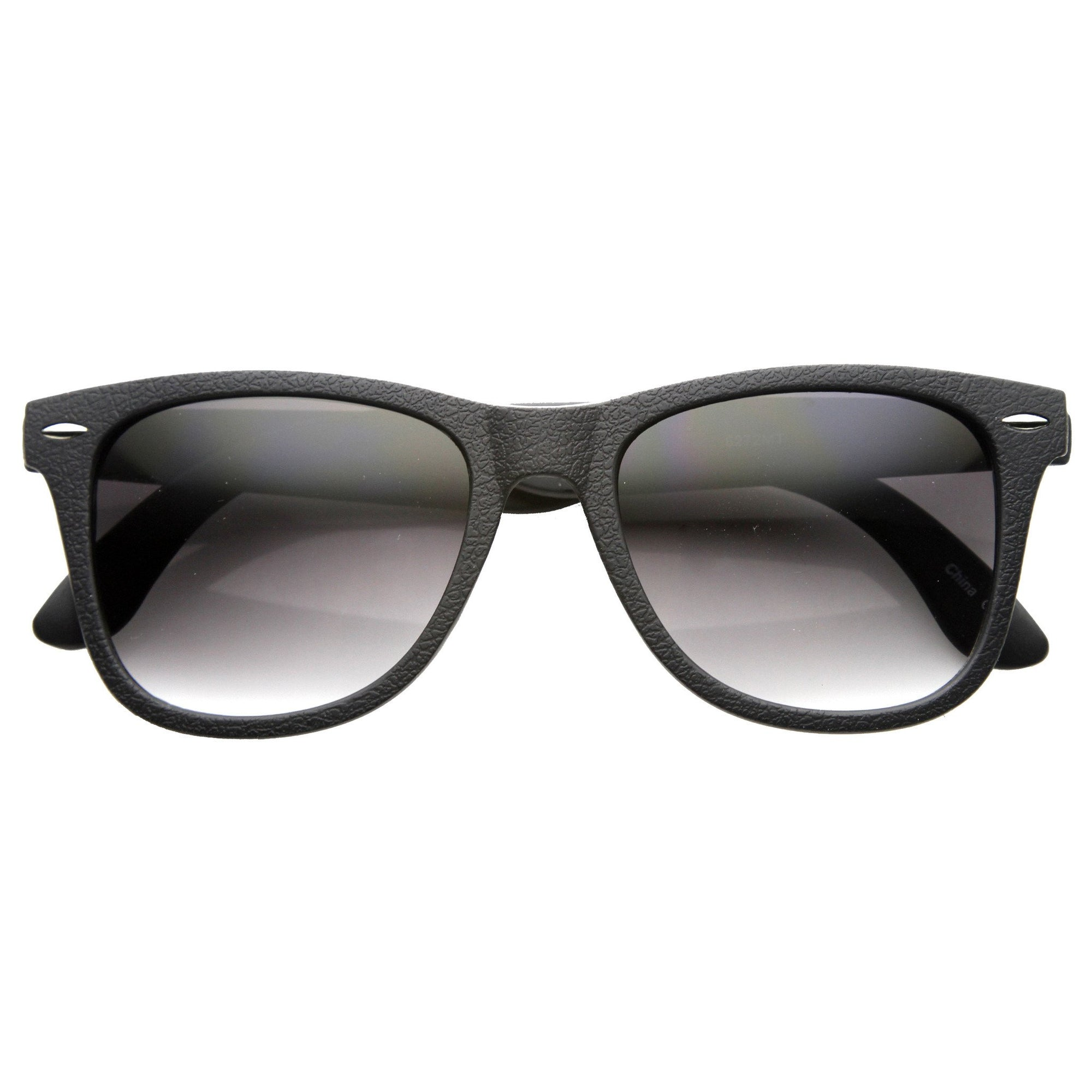 Wayfare Inspired Classic Large Square Horn Rimmed Sunglasses