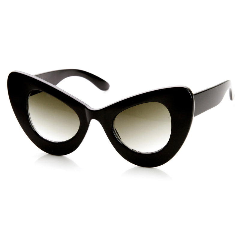 Retro Mod Super Trendy Women's Fashion Cat Eye Sunglasses 9233