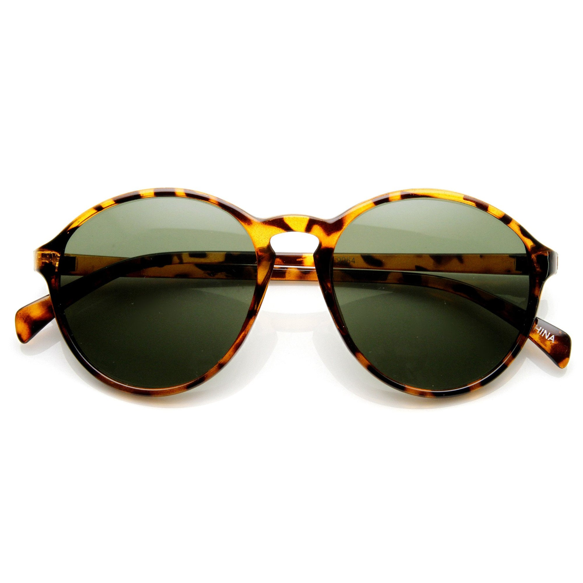 78aa80590d4 Dapper Vintage 1920 s Inspired Indie P3 Round Fashionable Sunglasses 9175