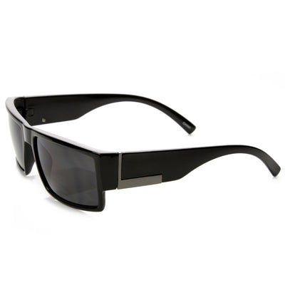 Premium Mens Action Sports Rectangle Frame Sunglasses 9189
