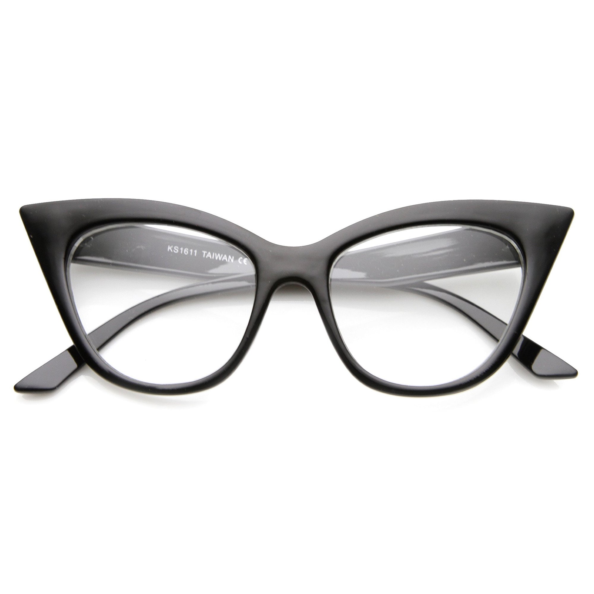 5291567c02 Optical RX Clear Lens Glasses Tagged