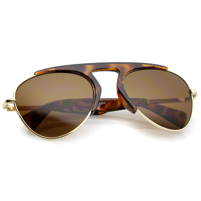 Shiny Tortoise Gold Brown