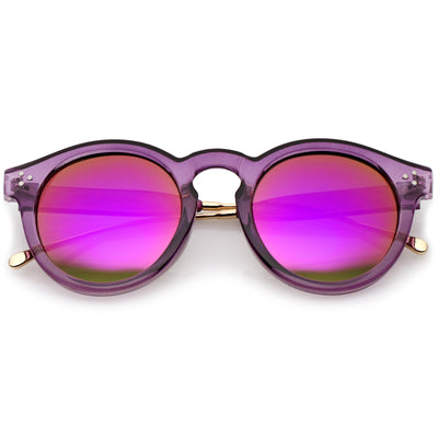 Purple Gold Magenta Mirror