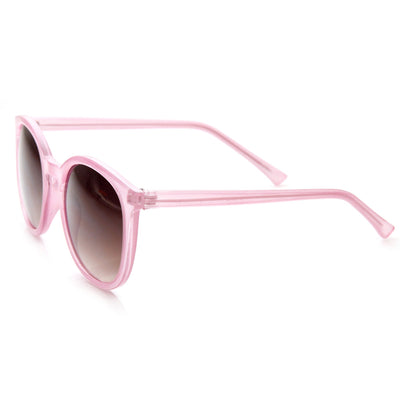 "Zerouv + Plus ""Ava"" Retro Indie Fashion Round P3 Key Hole Sunglasses"