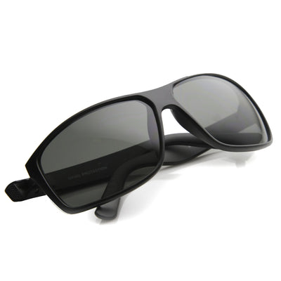 3761e0295cd Men s Rectangular Sports Composite Lens Sunglasses - zeroUV