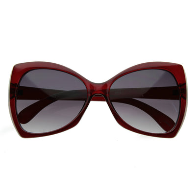 New Womens Designer Pointed Tip Butterfly Sunglasses 8242