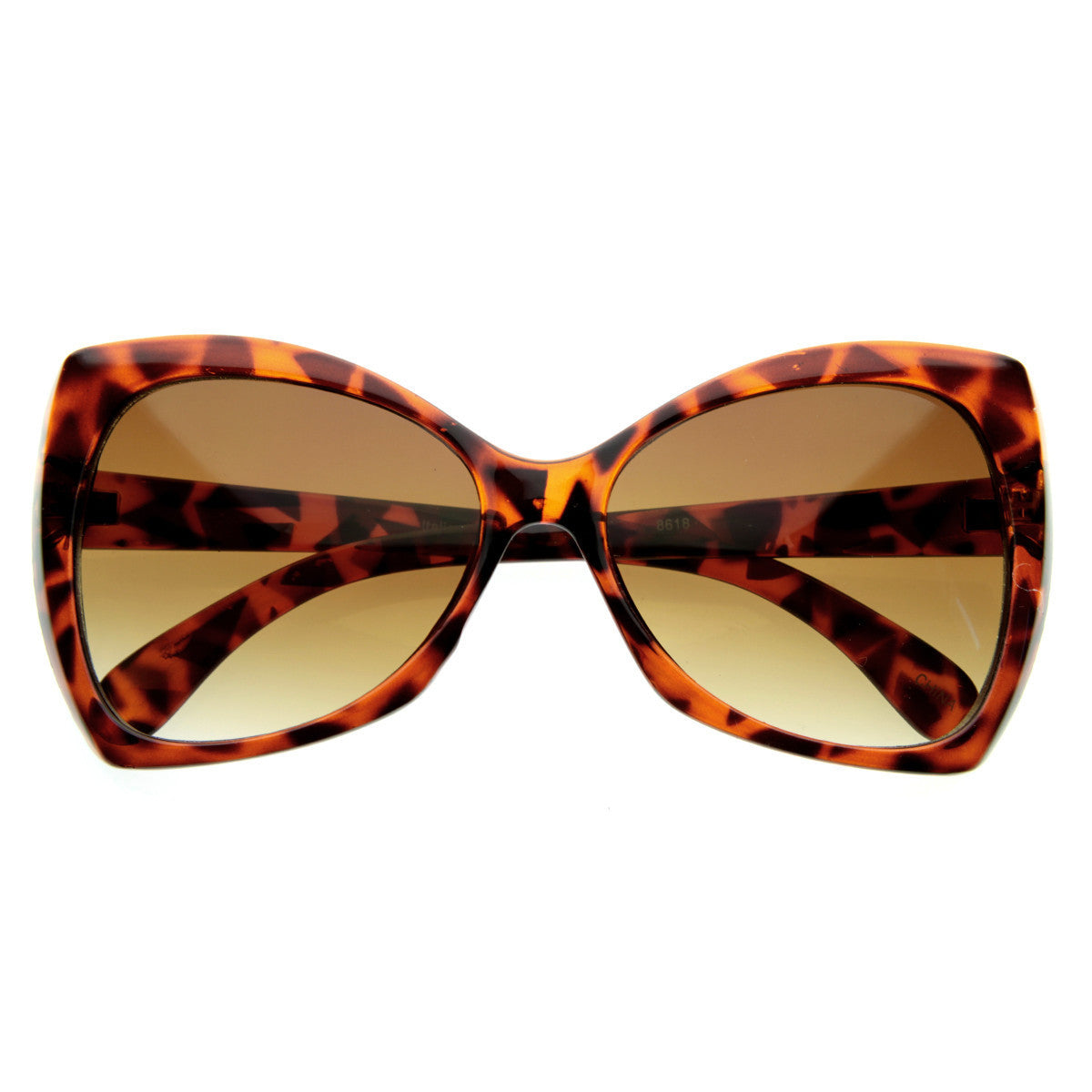 bed463ef75c1d New Womens Designer Pointed Tip Butterfly Sunglasses - zeroUV