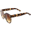 Womens Designer Round Oversize Retro Fashion Sunglasses 8623