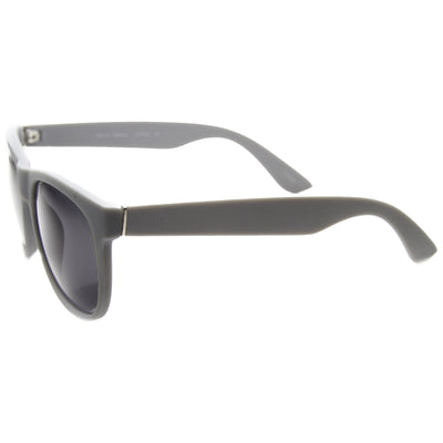 Super Retro Hipster Horned Rim Frame Sunglasses 8693