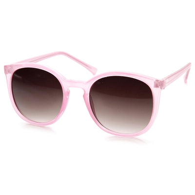"Zerouv ""Ava"" Retro Indie Fashion Round P3 Key Hole Sunglasses"