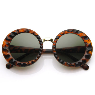 Designer Fashion Round Circle Women's Sunglasses