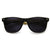 Eco Friendly Genuine Bamboo Wood Temple Horned Rim Sunglasses 9304