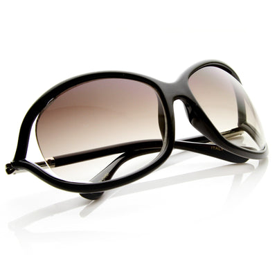 Designer Inspired Oval Fashion Sunglasses 8681