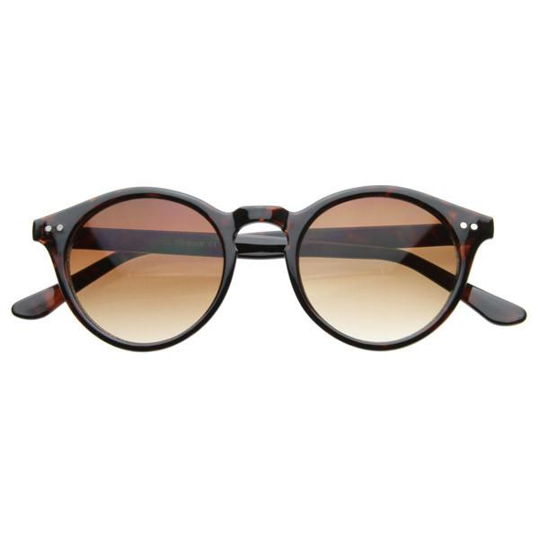 9536e19a87 Vintage Inspired Key Hole Round Spectacles P3 Sunglasses 7055