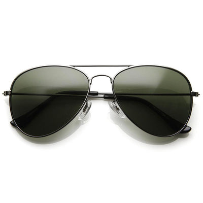 Hollywood Womens Celebrity Metal Military Aviator Sunglasses 1041