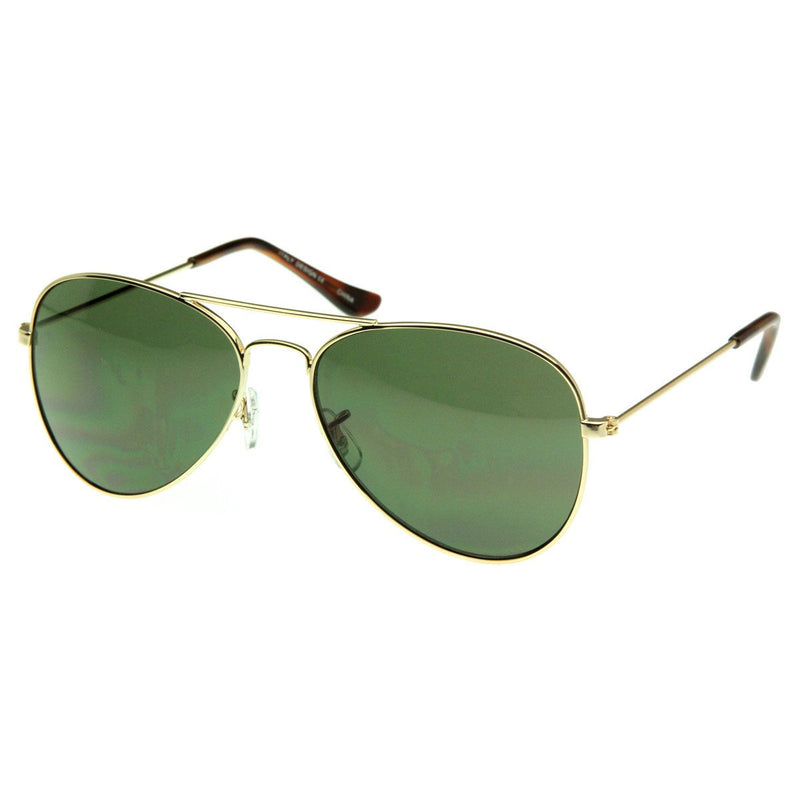 Celebrity Lindsay Lohan Classic Metal Military Aviator Sunglasses 1041
