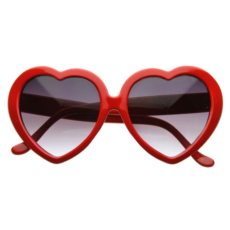 Celebrity Lindsay Lohan Novelty Heart Shape Sunglasses 8182