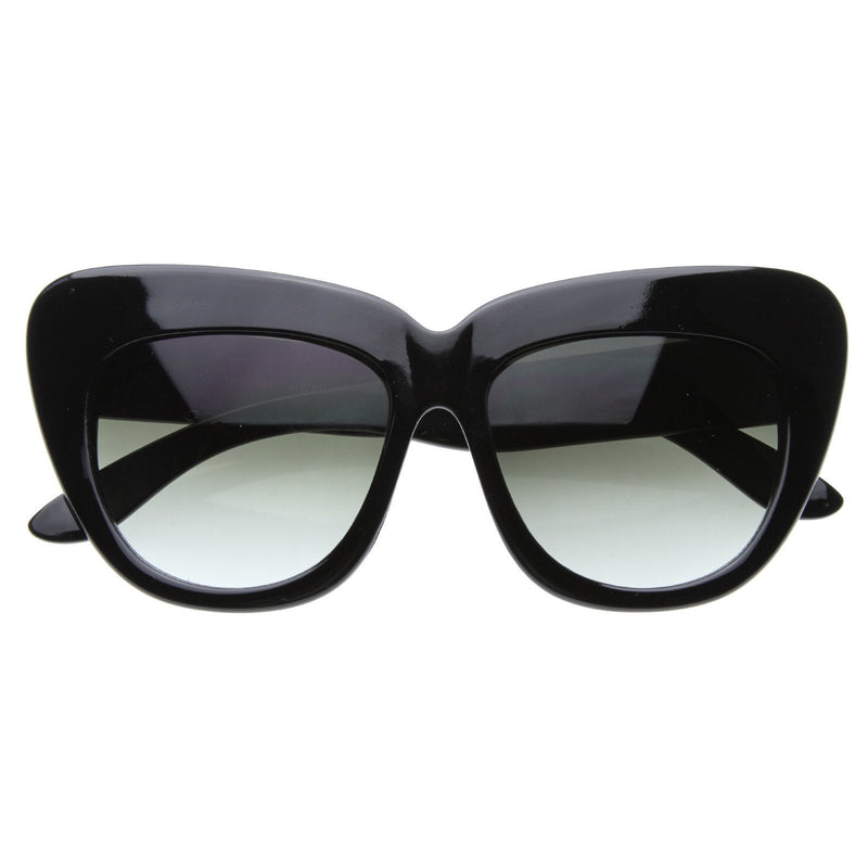 Celebrity Nicole Richie Fashion Oversize Cat Eye Sunglasses 8300
