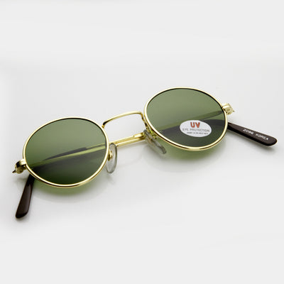 Genuine Vintage Steampunk Round Circle Spectacles Sunglasses 7218