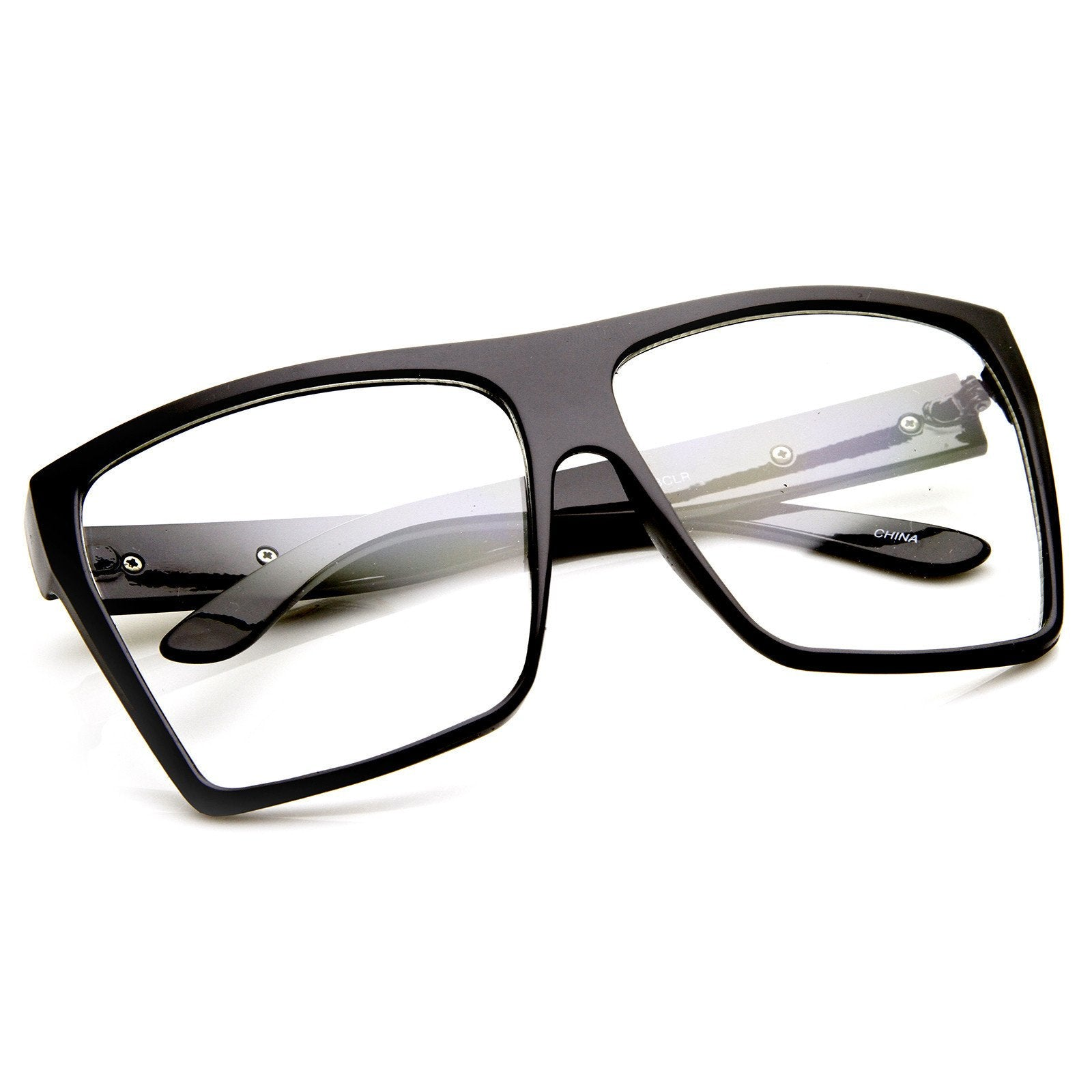 19097d1b16c ... Super Oversize Square Clear Lens Fashion Glasses 8830 · Black · Black ·  Black · Black