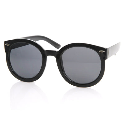 ec63a46b875 Modern Rounded Circle P3 Indie Fashion Sunglasses - zeroUV