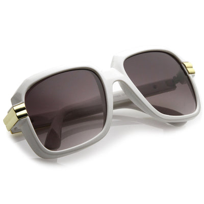 Retro Hip Hop Fashion Square Aviator Sunglasses 8148