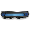 Futuristic Mono Cyclops Mirrored Lens Wrap Shield Sunglasses C024