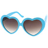 Cute Womens Lolita Sweet Heart Shape Sunglasses 8182