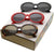 Large Retro Round Oval Clout Goggle Sunglasses C383 [Promo Box]